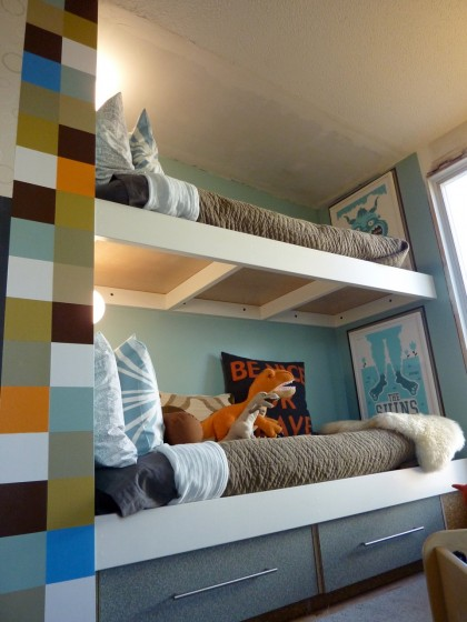 full shot bunk bed