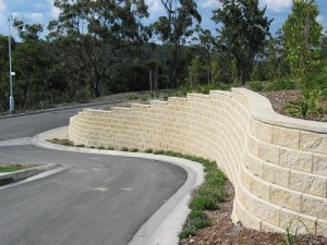 keyed block retaining wall | allanblock.com