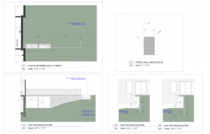 back retaining wal | Inside Out Design