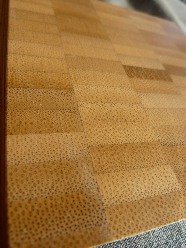 bamboo end-grain flooring