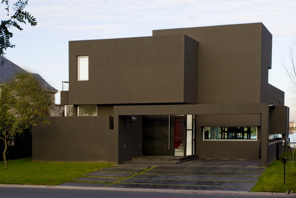The Black House Andres Remy Arquitectos Archdaily Com