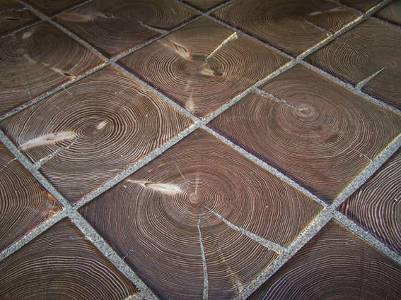 hemlock used as tile