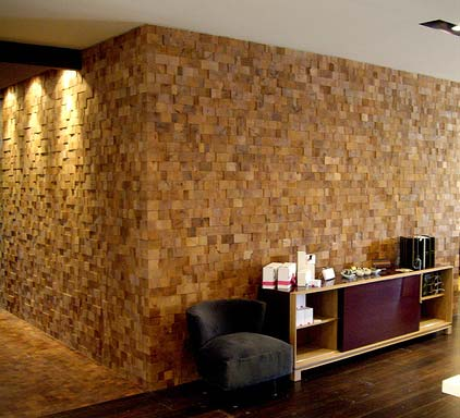 mesquite floors and walls
