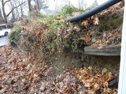 subsiding driveway slope 2