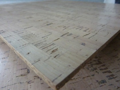 edipo cork tile in bleach white | duro-design.com