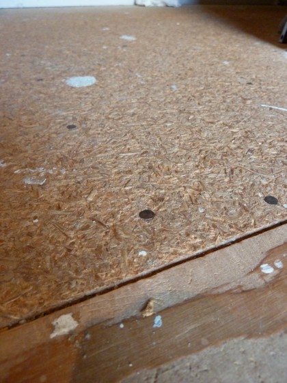 particle board floor