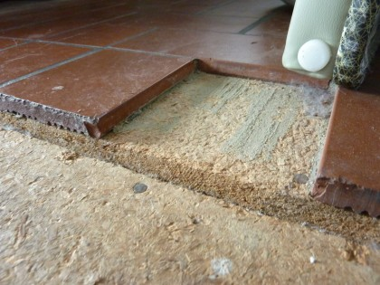 remod wants | kitchen tile removal