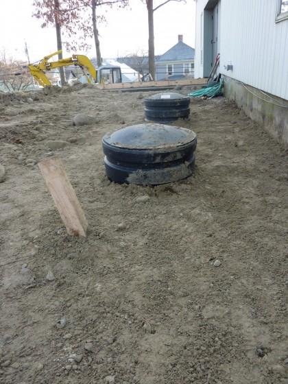 tank buried