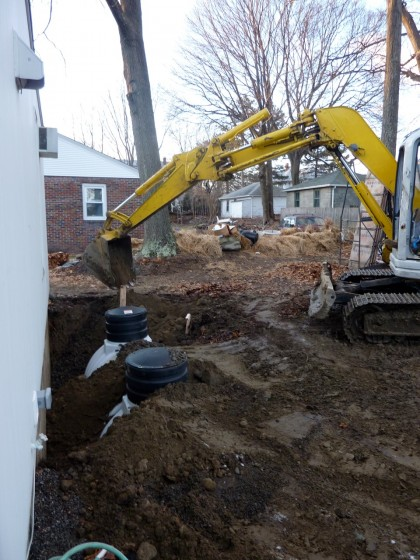 tank burying