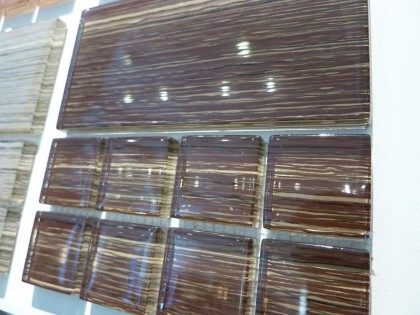 striated glass