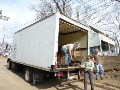sylvan truck arrives