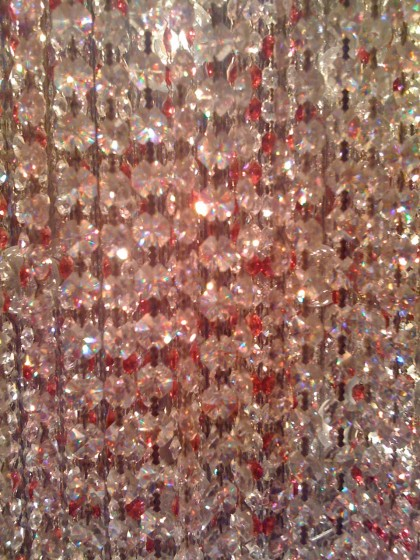 chandelier closeup