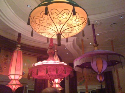parasols at the Wynn