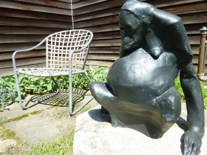 ape sculpture