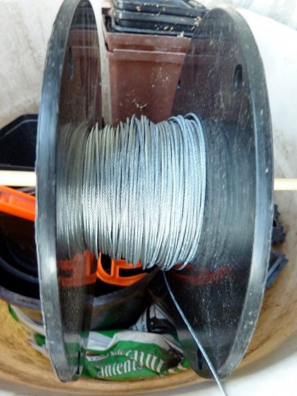 steel wire spool