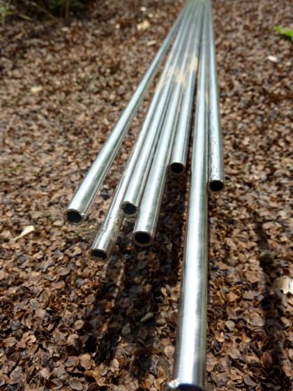 steel rods