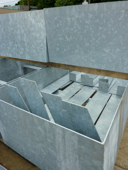 hot dip galvanized steel risers