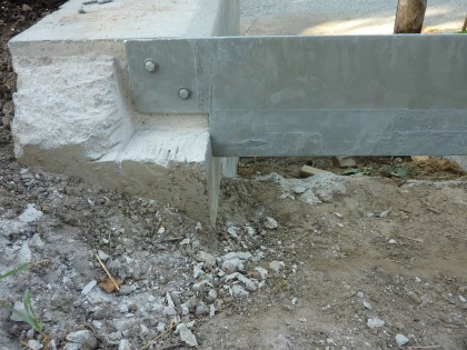 a peek at those veg garden stair riser bolts