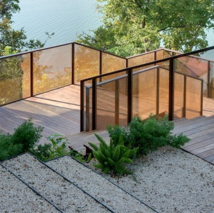 gravel and steel steps by D-Crain | d-crain.com