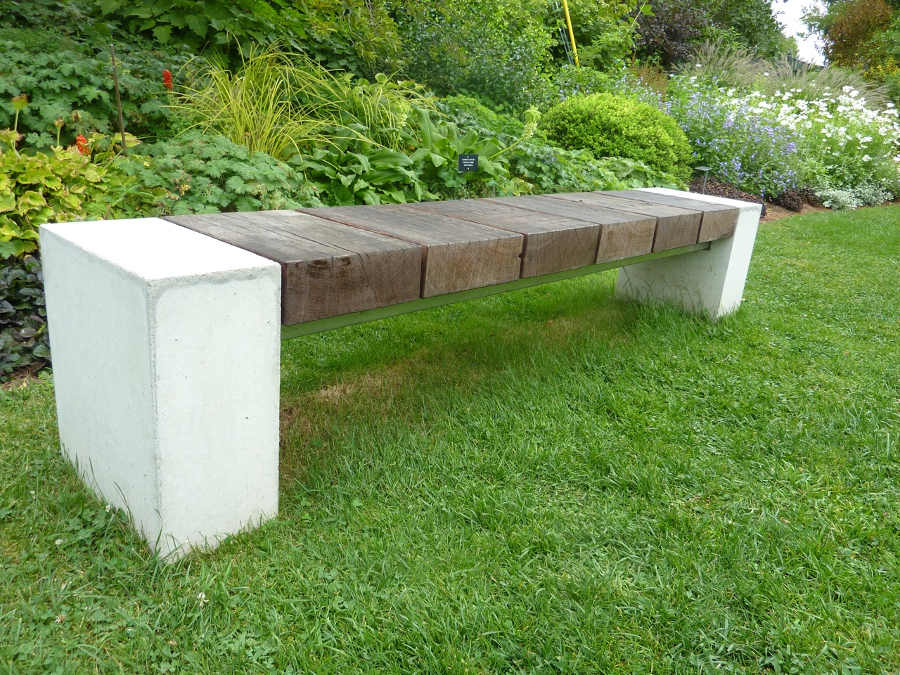 baseball  bench at berkshire botanical garden. furniture   mod remod