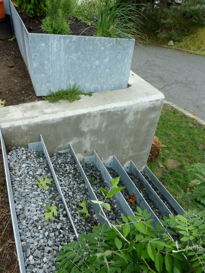 front stairs need pea gravel to top off crushed stone