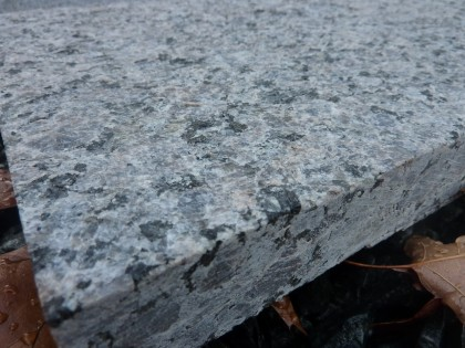 caledonia granite closeup