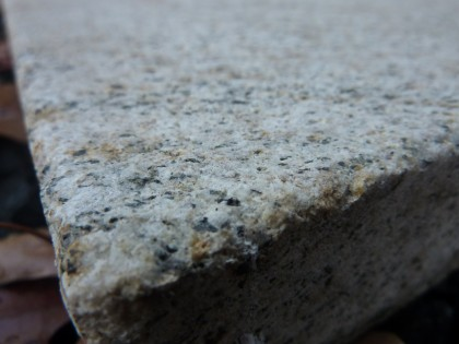 gold granite closeup