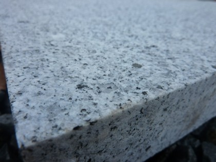 grey granite closeup