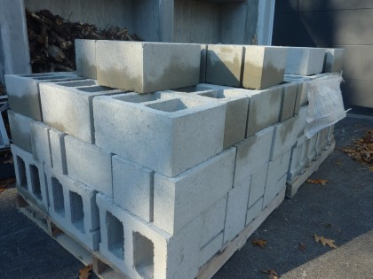 day 3 concrete blocks