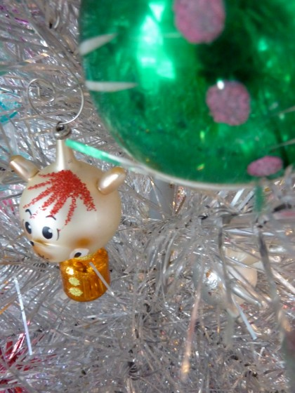 holiday italian glass fox