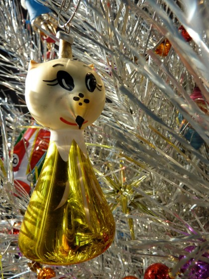 holiday italian glass foxy
