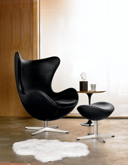 egg chair by arne jacobsen for fritz hansen | dwr.com