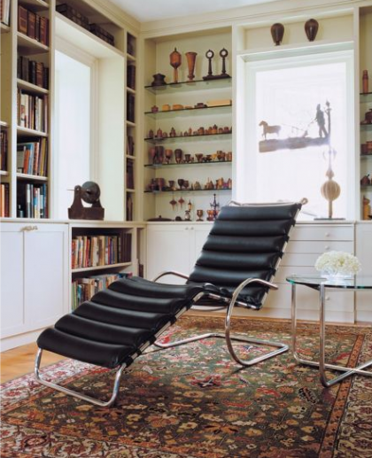 mr chaise lounge by mies van der rohe for knoll | dwr.com