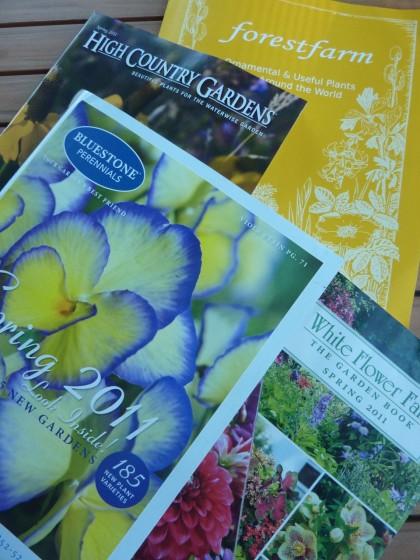 spring plant catalogs