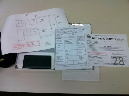 building permit!