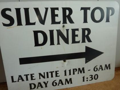 silvertop diner sign