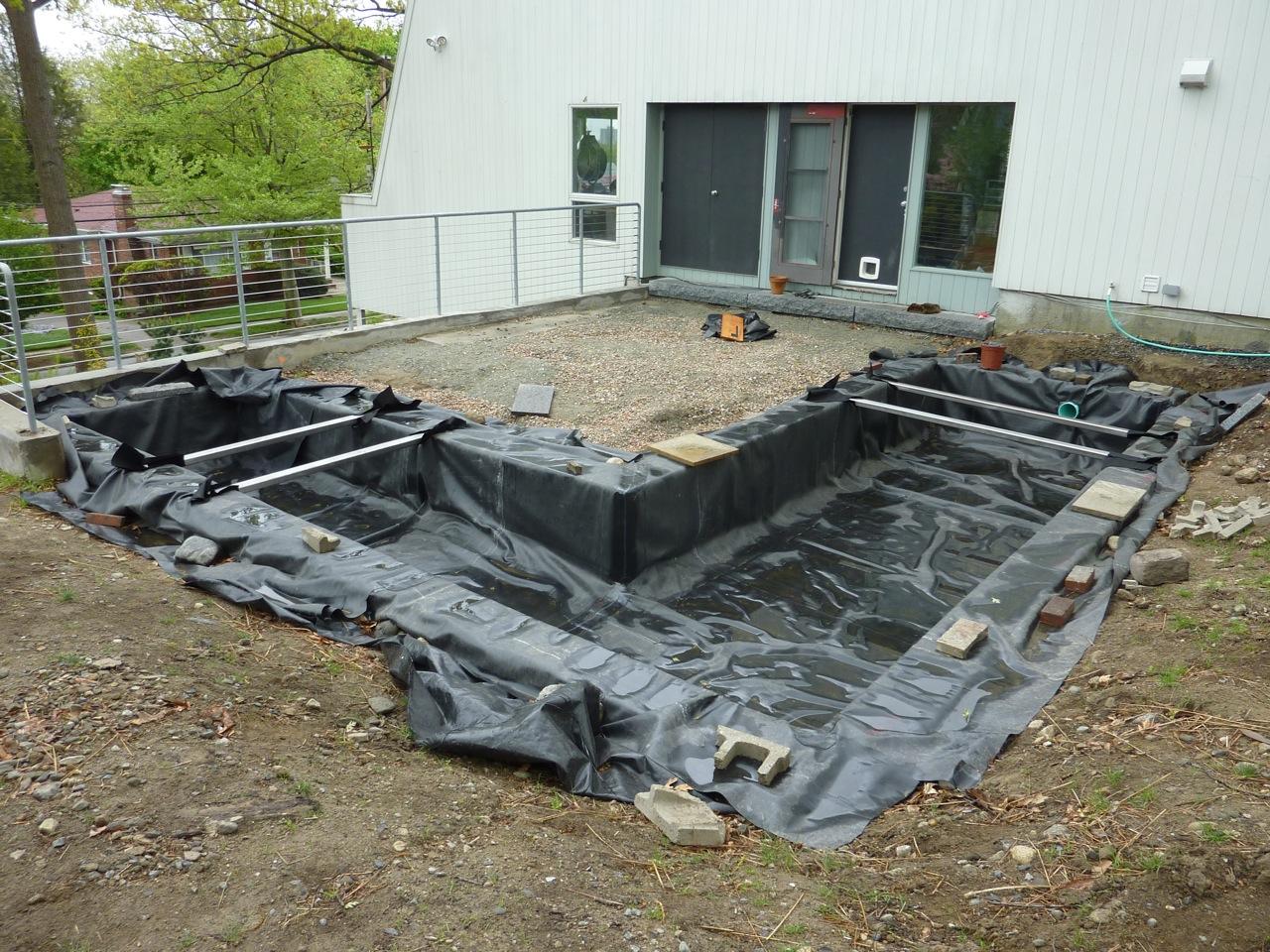 Epdm Pond Liner Mod Remod