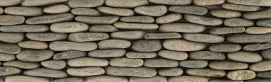 ann sacks pebble tile, bali in black and gray | annsacks.com