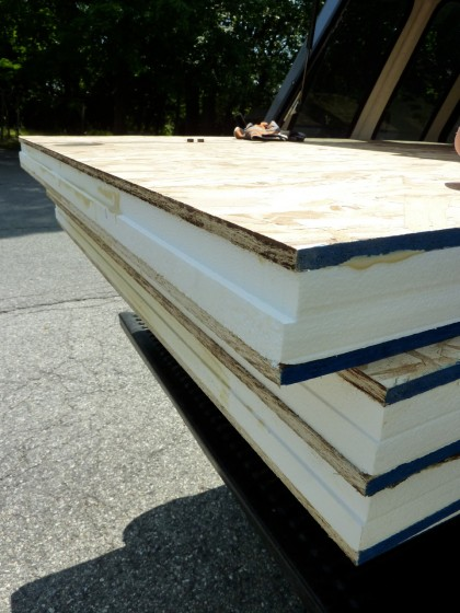 floor insulation panels