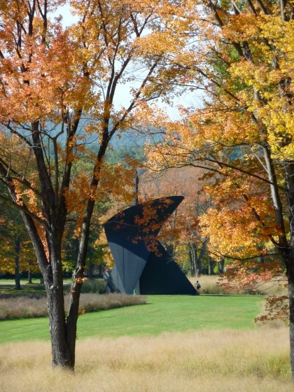 storm king | calder's the arch from a distance
