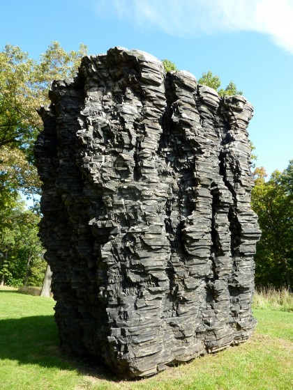 storm king  | for paul by ursula von rydingsvard, '90 to '92