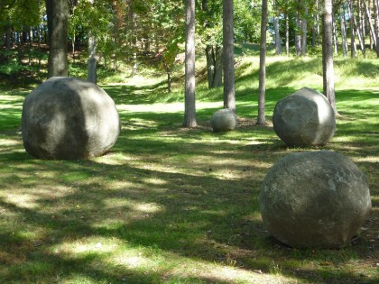 storm king | spheres by grace knowlton, '73-'85