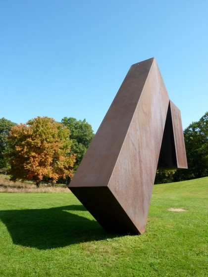 storm king | suspended by menashe kadishman, '77