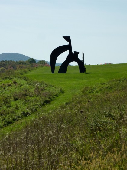 storm king | black flag by alexander calder, 74