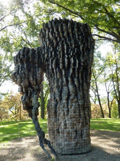 storm king | luba by ursula von rydingsvard, 09-10