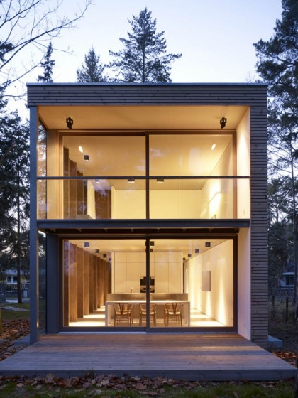 minimum house, scheidt kasprusch architekten | archdaily.com
