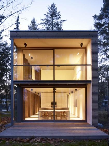minimum house, scheidt kasprusch architekten | archdaily.com