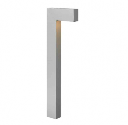 hinkley path light in titanium | hinkleylighting.com