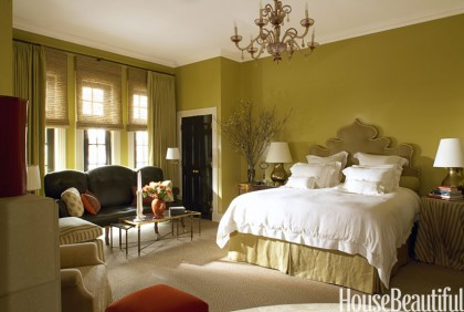 chicago townhouse bedroom by alessandra-branca | housebeautiful.com