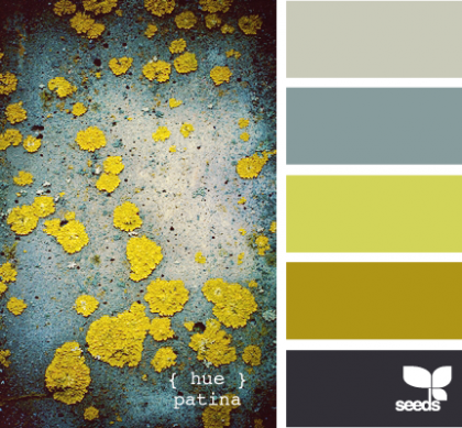 hue patina | design-seeds.com